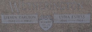 Steve Wetherington gravestone
