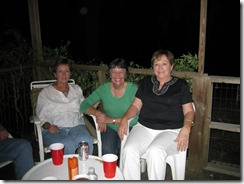 Pat, Joanne, and Sylvia