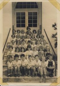 Central Elem, Lake City, Fl, Second Grade 1949-50 Teacher Verna Raker Moore