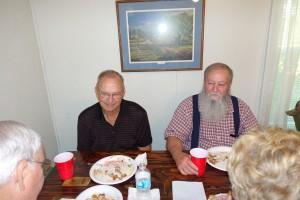 Colen Brinkley and Billy George