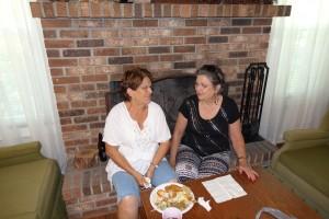 Margie Ogden and Mavis Rogers