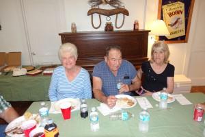Ruth Mcleran Mizell, George and Barbara Richards