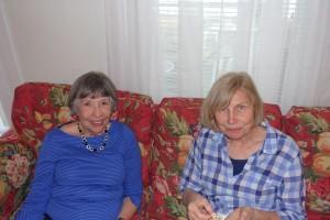 Joanne Milton Wilkes and Linda Duren Feldsher