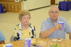 Barbara Crews and Doc Bloodworth