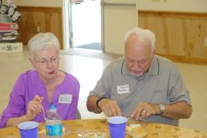 Judy Smith and Ron Baughn